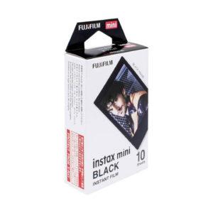 Fujifilm instax mini Sofortbildfilm - Black - 10 Aufnahmen