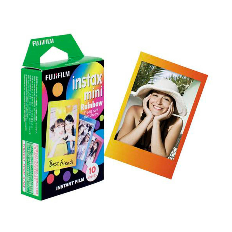 Fujifilm instax mini Sofortbildfilm - Rainbow - 10 Aufnahmen