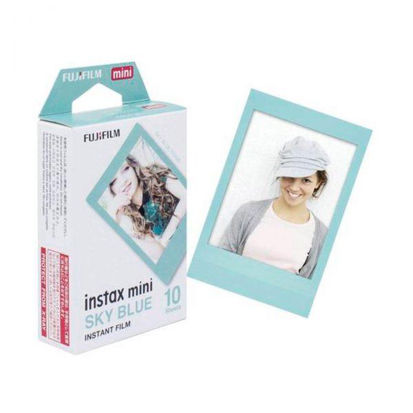 Fujifilm instax mini Sofortbildfilm - Sky Blue - 10 Aufnahmen