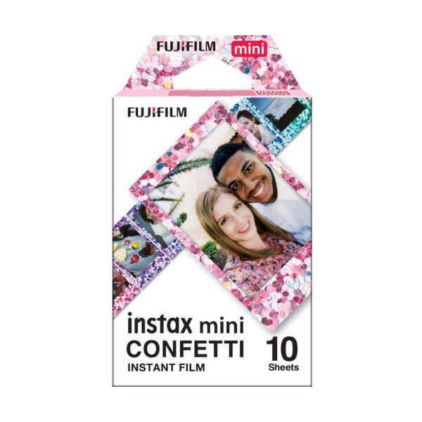 Fujifilm instax mini Sofortbildfilm - Confetti - 10 Aufnahmen