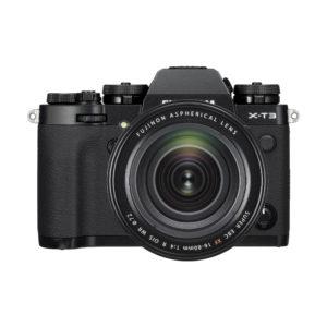 Fujifilm X-T3 + XF 16-80mm R OIS WR : Schwarz