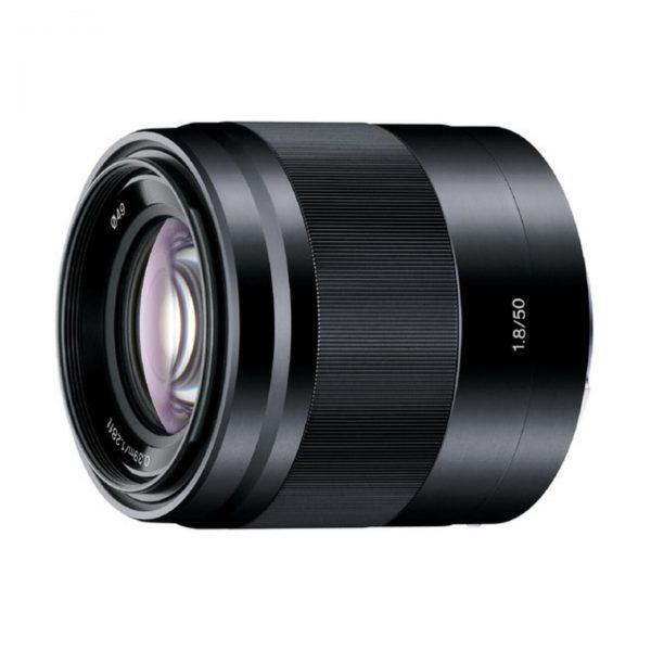 Sony E 50mm f/1,8 OSS : Schwarz