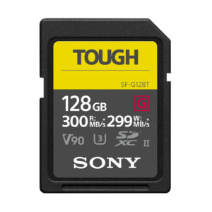Sony TOUGH SF-G 128GB SDXC UHS-II