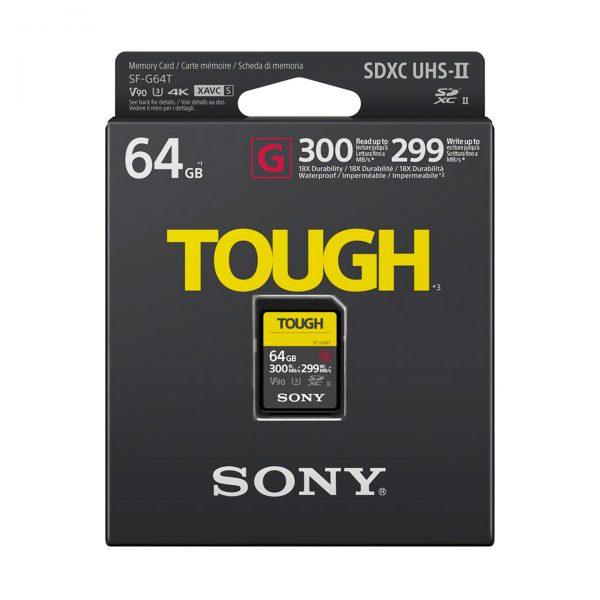Sony TOUGH SF-G 64GB SDXC UHS-II