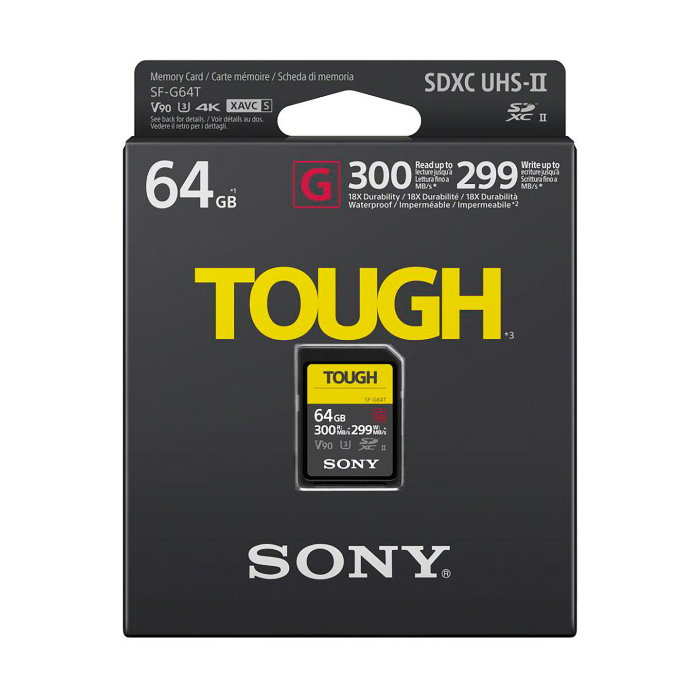 Sony TOUGH SF-G 64GB SDXC UHS-II