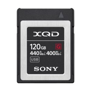 Sony XQD G-Serie : 120GB