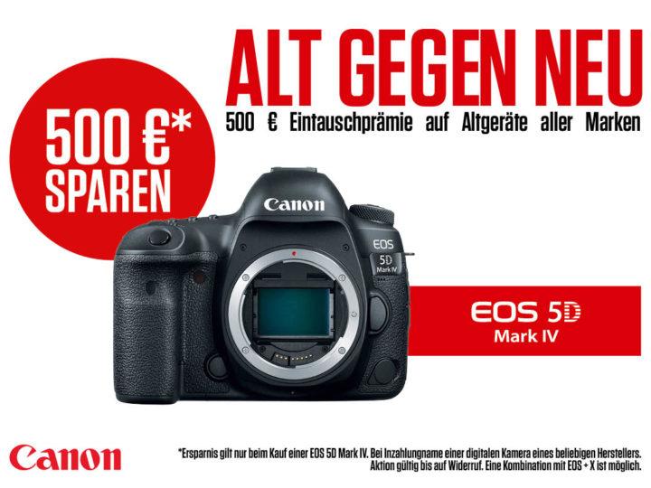 Canon EOS Eintauschaktion