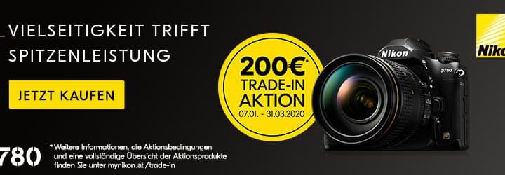 Nikon D780 Trade-In-Bonus