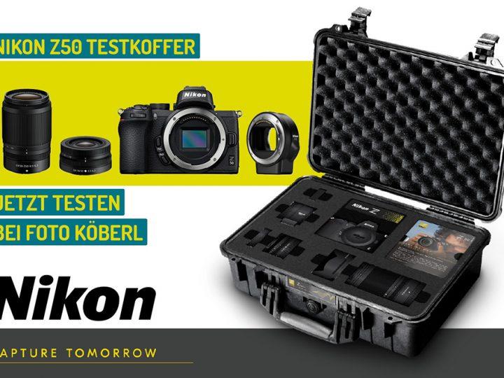 Nikon Z50 Testkoffer