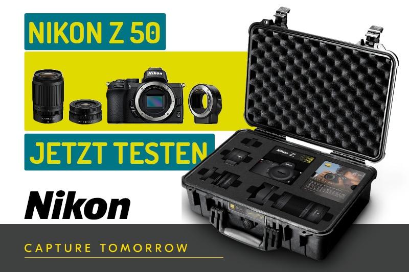 Nikon Z 50 Testkoffer