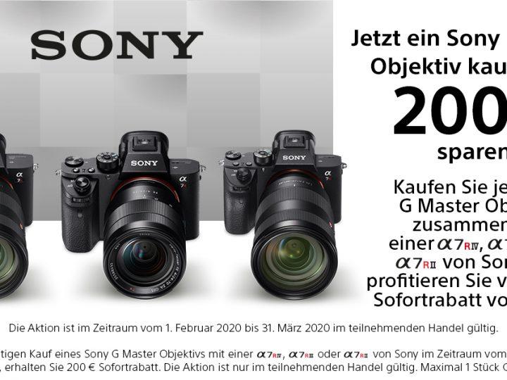 Sony G-Master + A7R Aktion