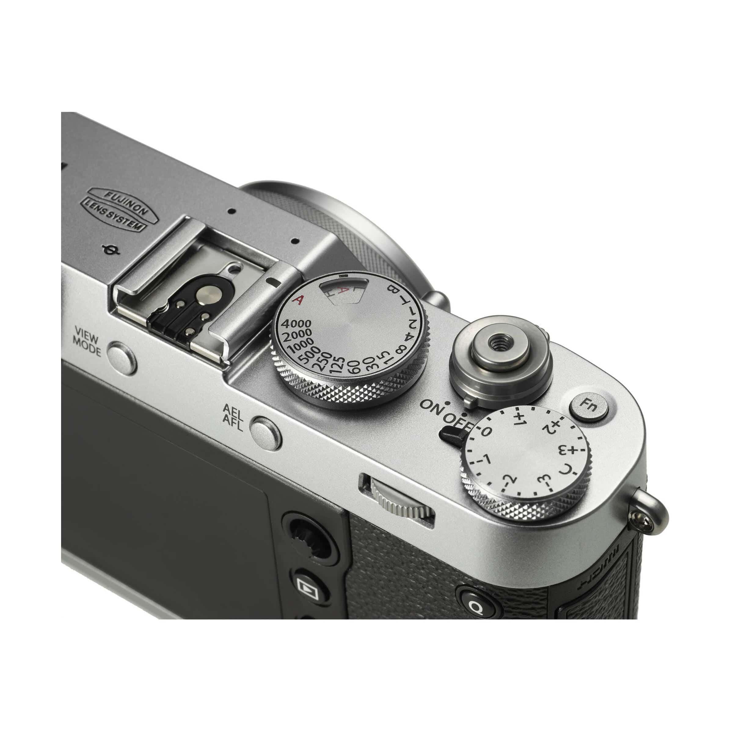 Fujifilm X100F : Silber