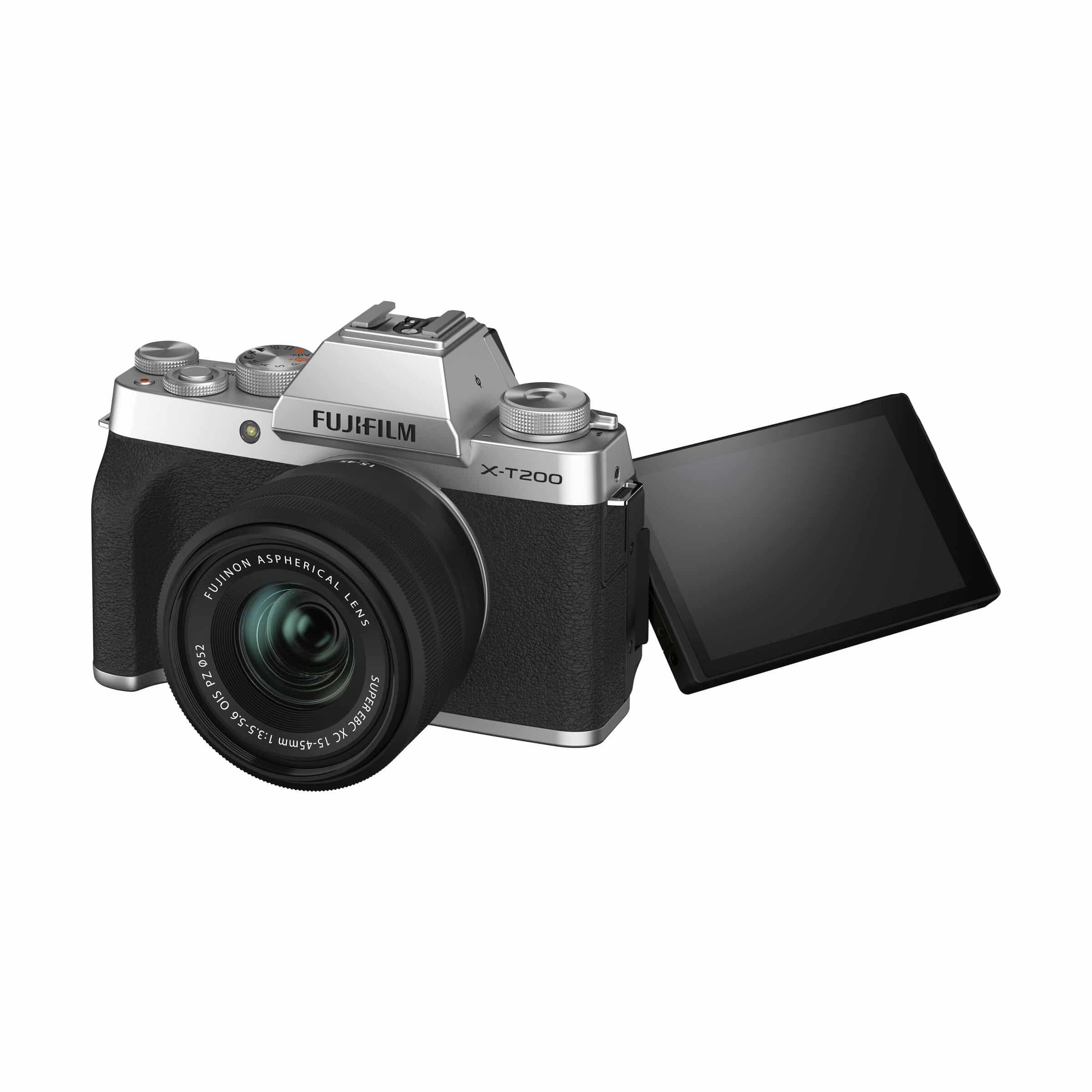 Fujifilm X-T200 + XC 15-45mm : Silber