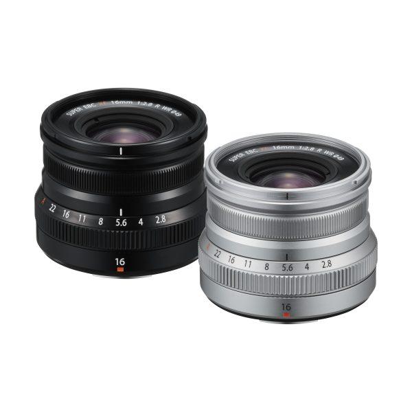 Fujifilm XF 16mm f/2,8 R WR : Schwarz