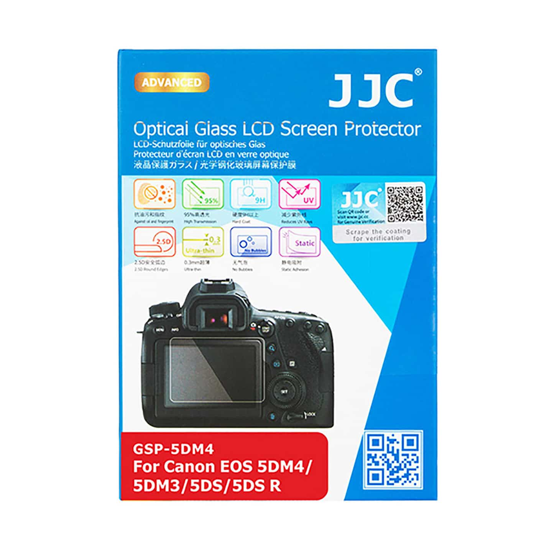 JJC Displayschutzglas für EOS 5D Mark IV/5DS R/5DS/5D Mark III