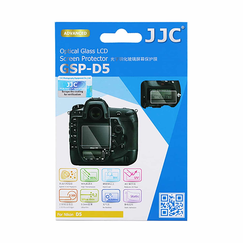 JJC Displayschutzglas für D5