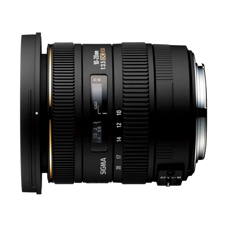 Sigma 10-20mm f/3,5 EX DC HSM : Canon