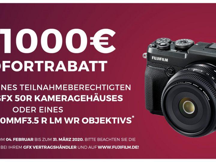 Fujifilm GFX Sofortrabatt 2020