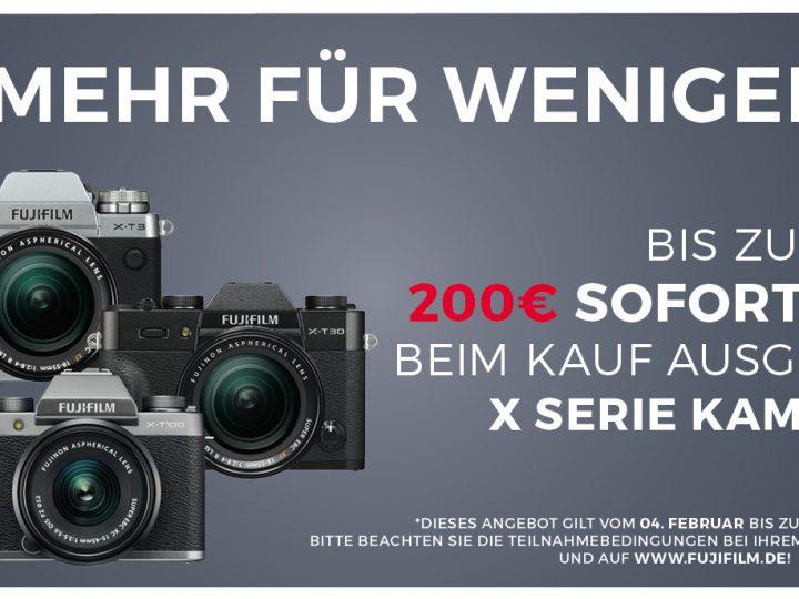 Fujifilm X-Serie Sofortrabatt 2020