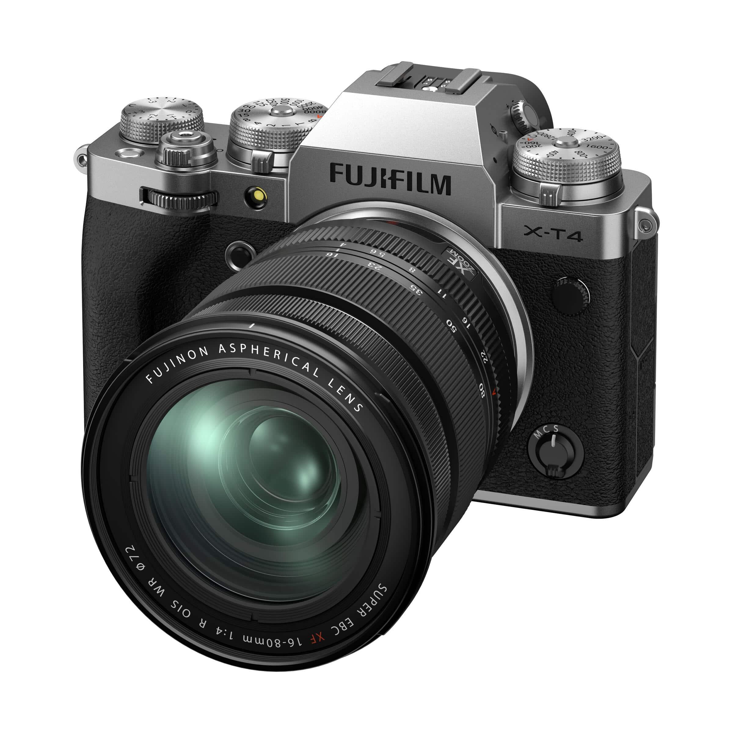 Fujifilm X-T4 : Silber