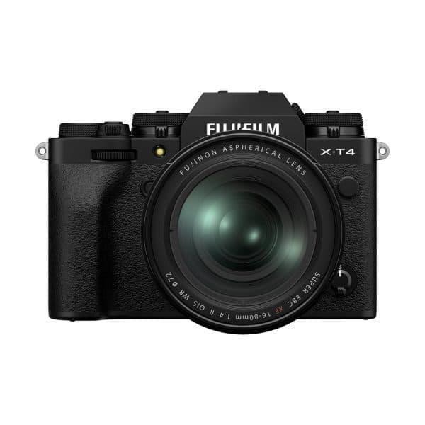 Fujifilm X-T4 + XF 16-80mm R OIS WR : Schwarz