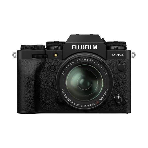 Fujifilm X-T4 + XF 18-55mm R LM OIS : Schwarz