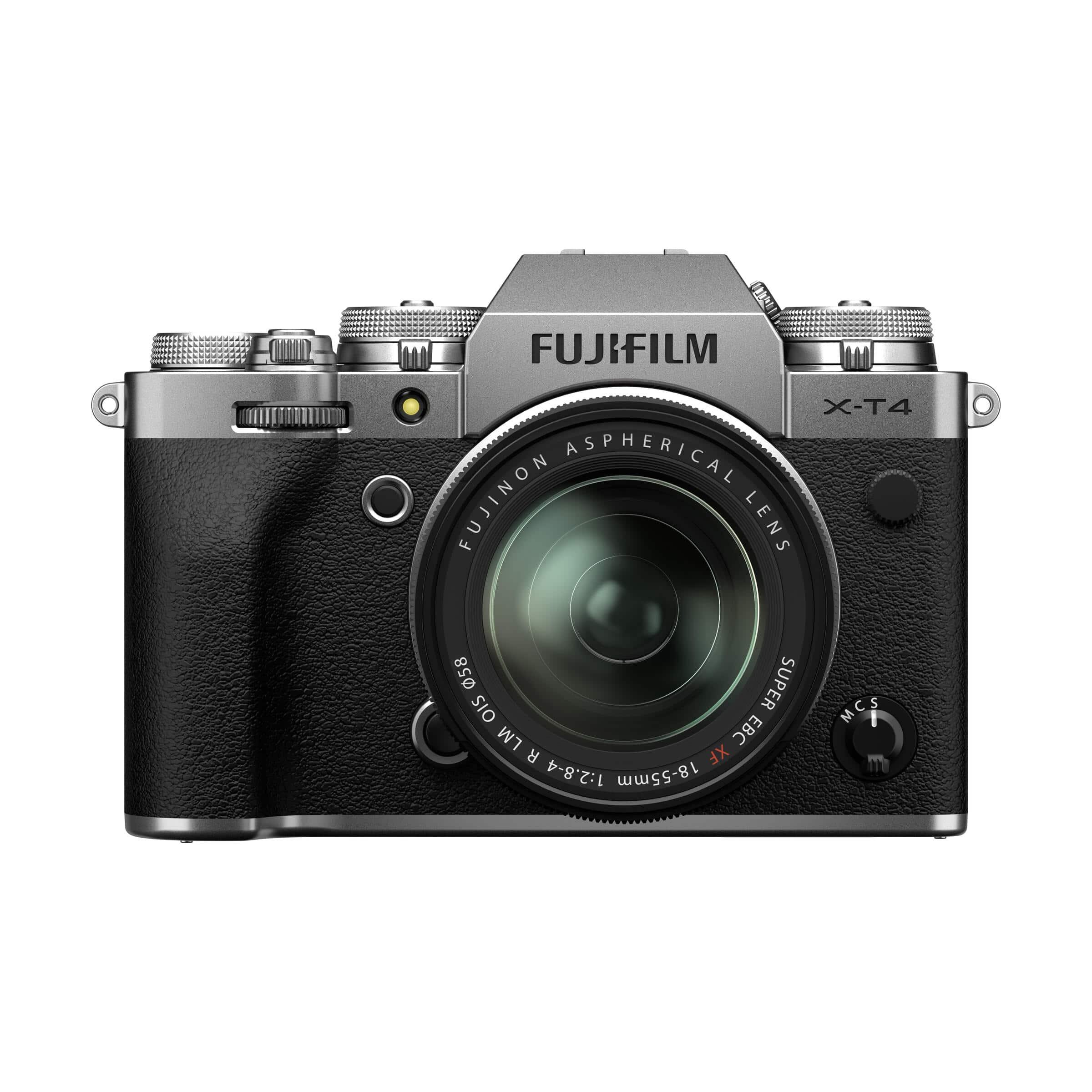 Fujifilm X-T4 + XF 18-55mm R LM OIS : Silber
