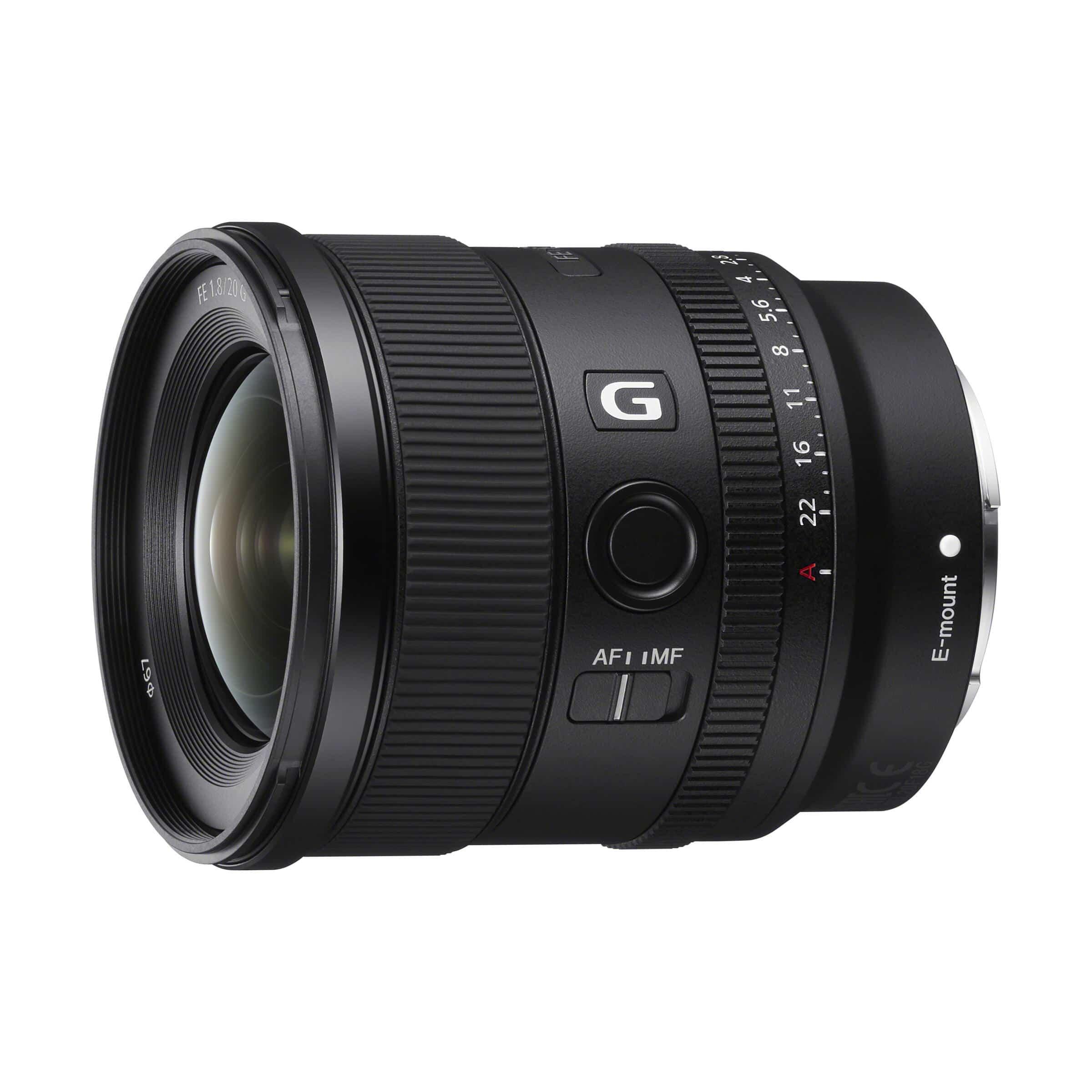 Sony FE 20mm f/1,8 G