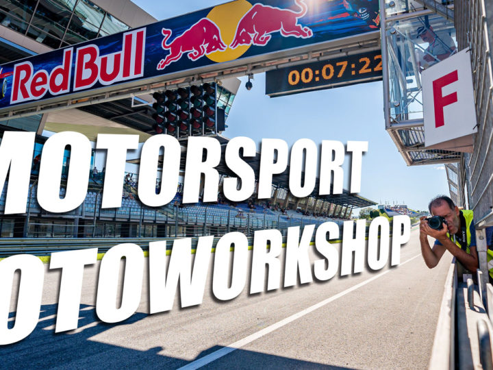 Motorsport-Fotoworkshop am RED BULL RING