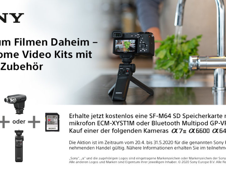 Sony Home Video Kit Aktion