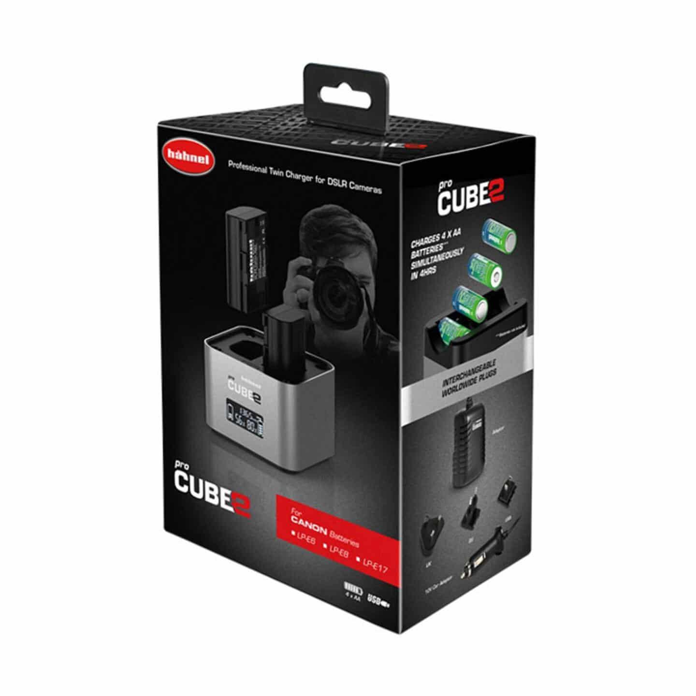 Hähnel proCube2 Doppelladegerät : Canon