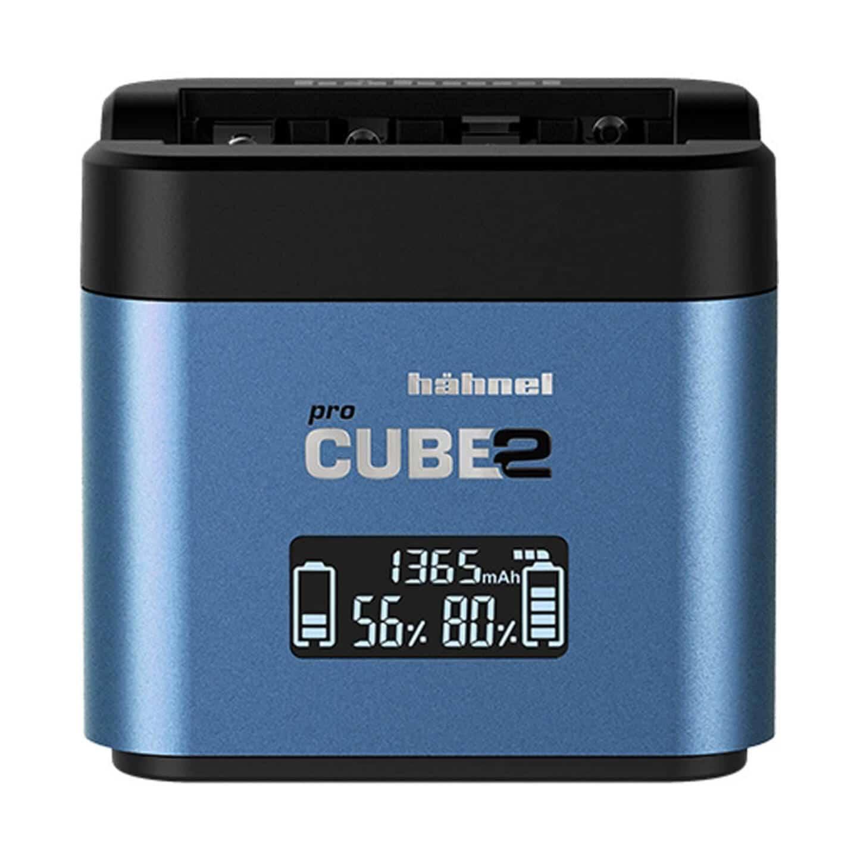 Hähnel proCube2 Doppelladegerät : Panasonic/Fujifilm