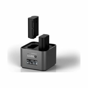 Hähnel proCube2 Doppelladegerät : Nikon