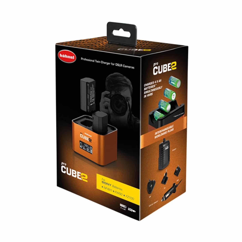 Hähnel proCube2 Doppelladegerät : Sony