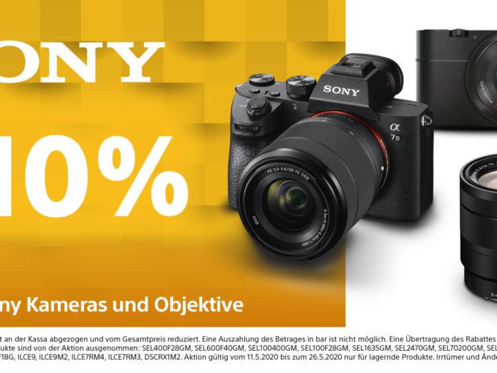Sony 10% Aktion
