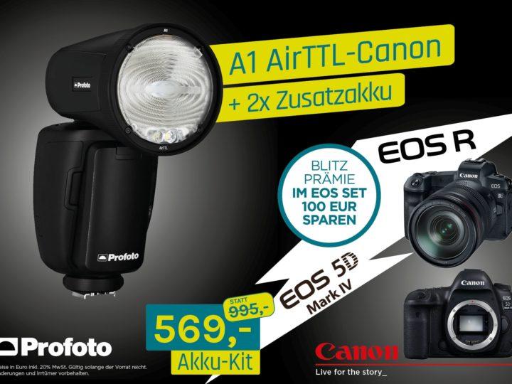Profoto A1 AirTTL-Canon – EOS Blitzprämie