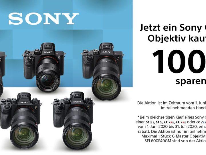 Sony GM-Objektiv-Promo 2020