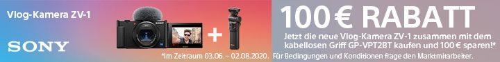 Sony ZV-1 Einführungs-Aktion