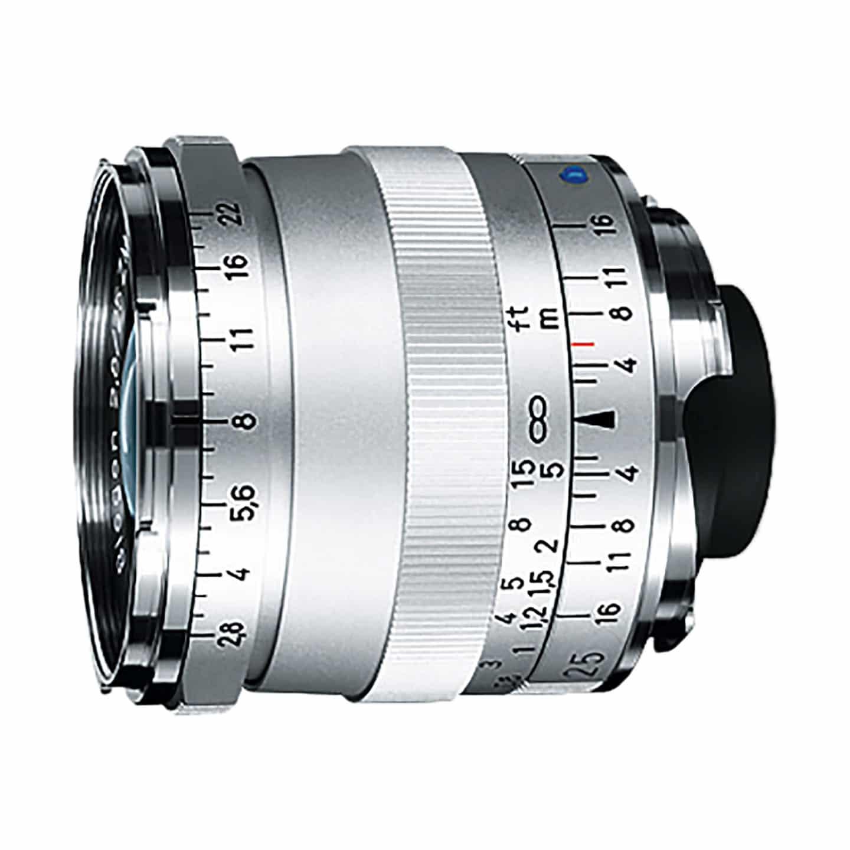 Zeiss Biogon T* 25mm f/2,8 ZM : Leica M : Silber