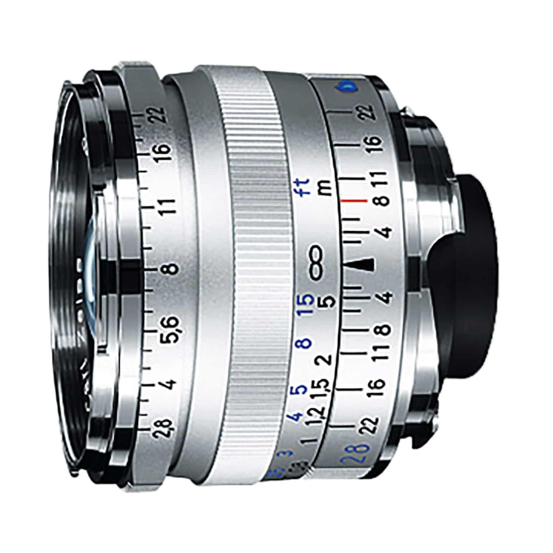 Zeiss Biogon T* 28mm f/2,8 ZM : Leica M : Silber