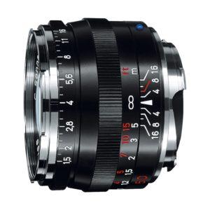 Zeiss C Sonnar T* 50mm f/1,5 ZM : Leica M : Schwarz