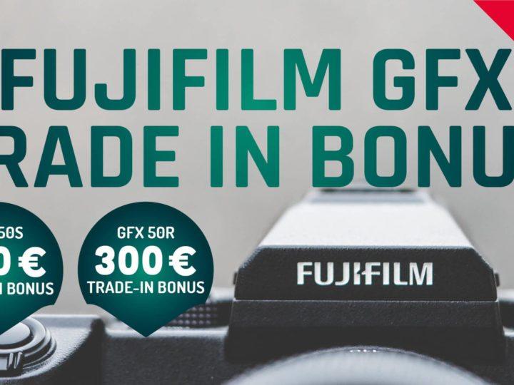 Fujifilm GFX Trade-In-Aktion