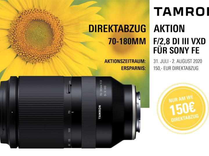 Tamron Direktabzug Aktion 70-180mm