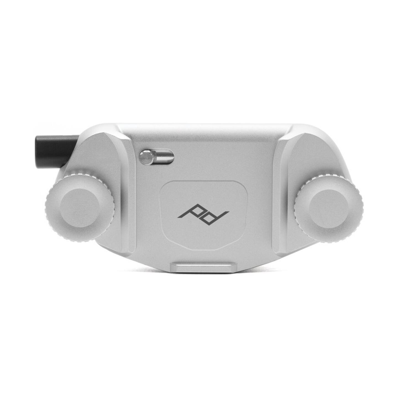 Peak Design Capture V3 Kameraclip einzeln : Silber