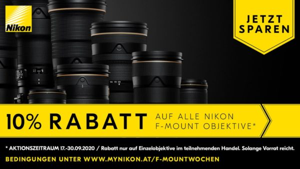 Nikon F-Mount Wochen