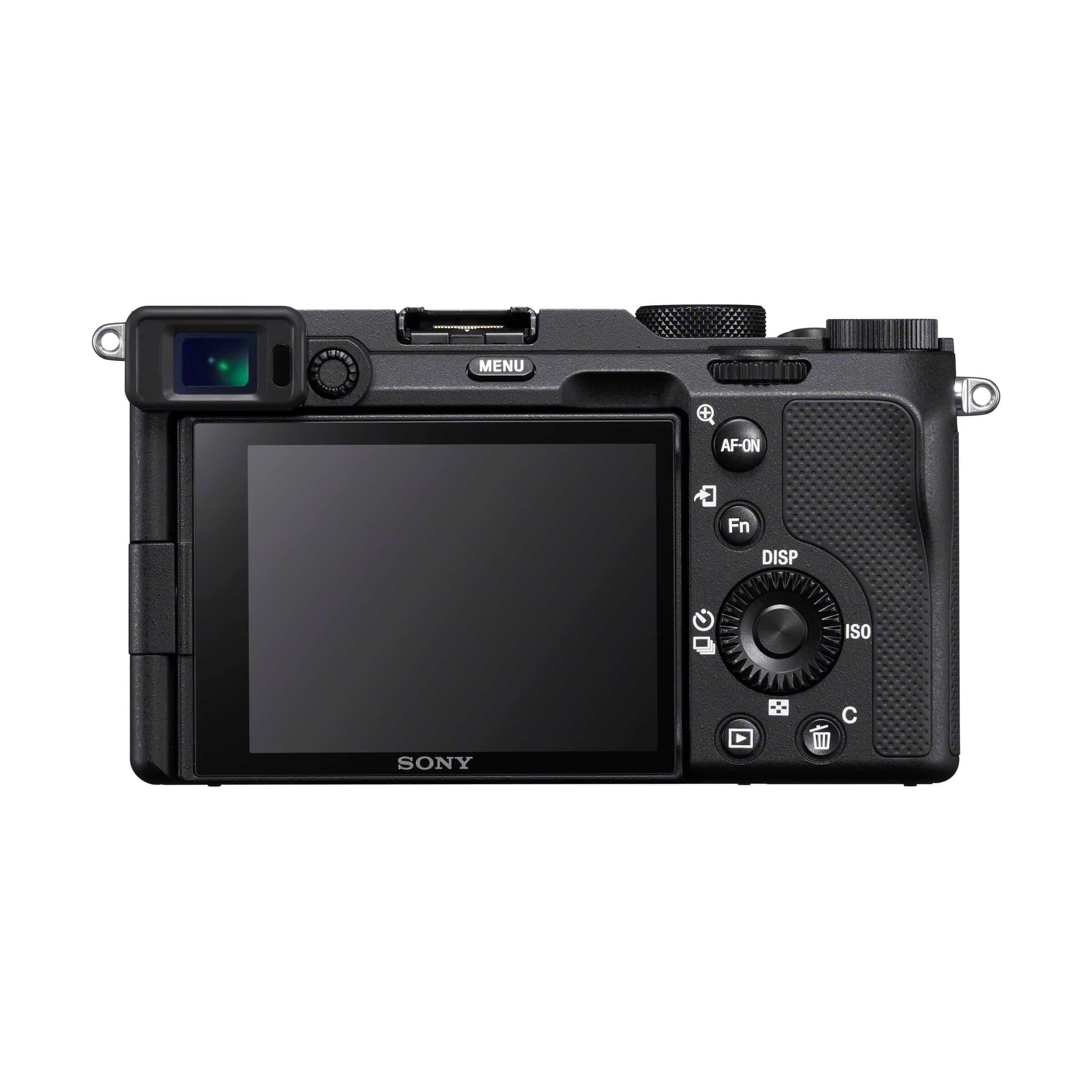 Sony Alpha 7C + FE 28-60mm : schwarz