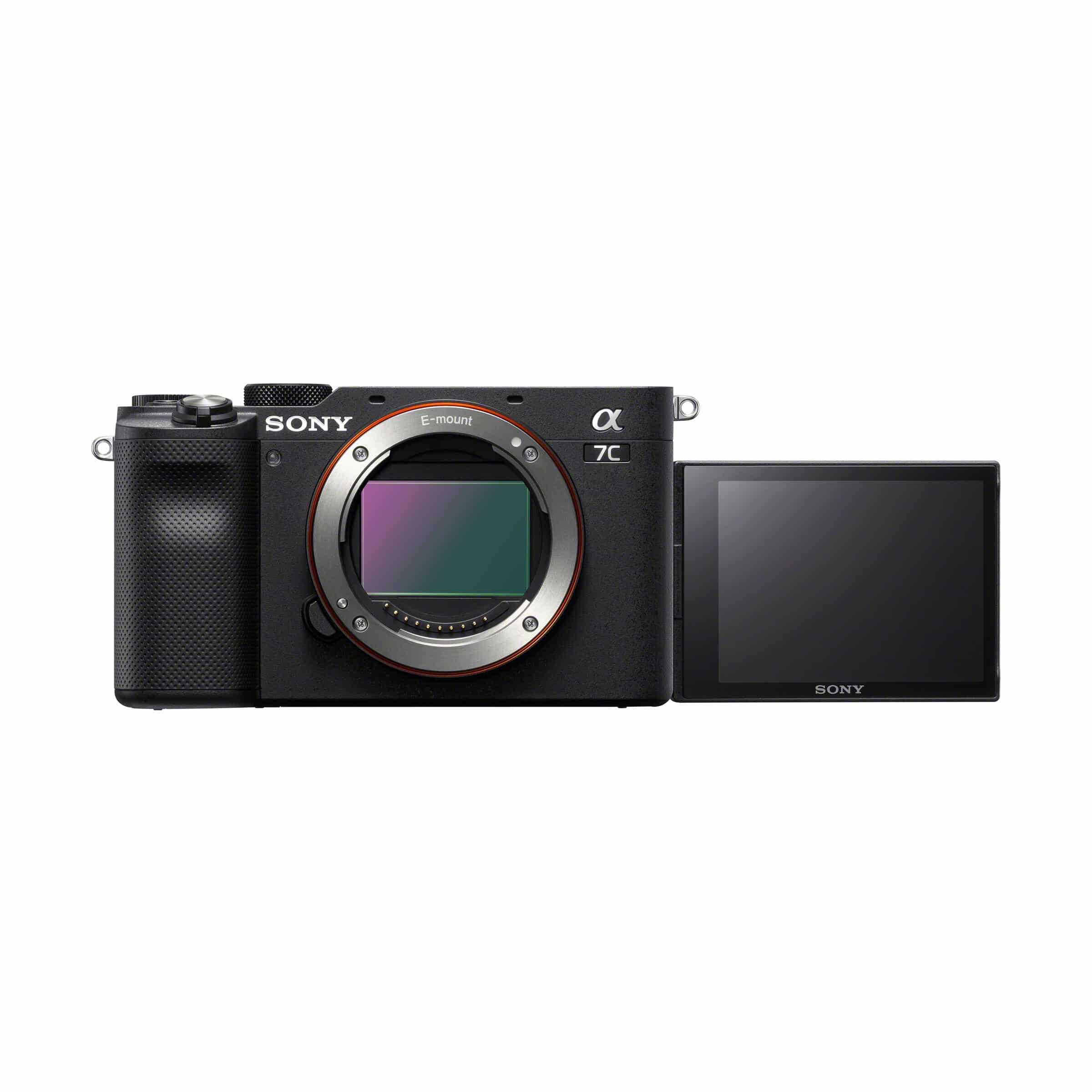 Sony Alpha 7C : schwarz