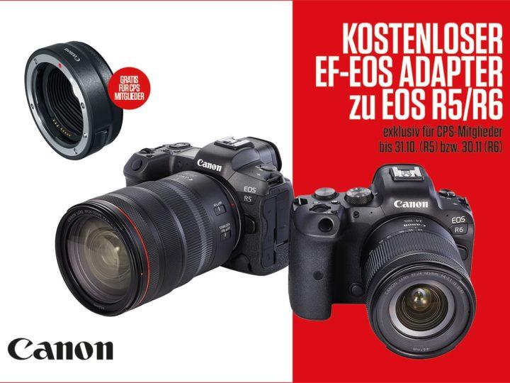 Canon EOS R5 und R6 Einführungsaktion