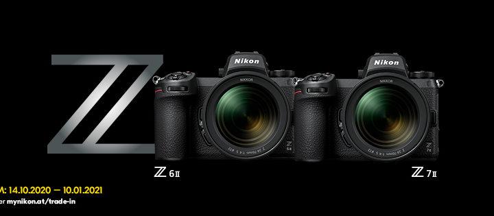 Nikon Trade-In-Aktion für Z 6II und Z 7II