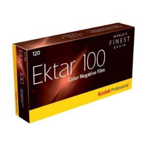Kodak Professional Ektar 100, 5er Packung (120)